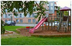Did you know that we have cutest little playground for the little ones? :)
