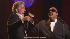 Tony Bennett With Stevie Wonder - For Once In My Life + Subtitulos