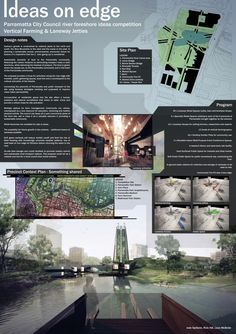 The Ideas on Edge Competition / University of Queensland's School of Architecture,competition board