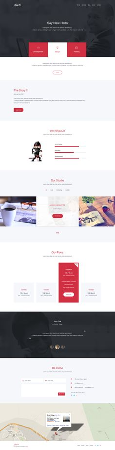 JAYDA is a clean One-Page PSD template with ( 11 ) inner pages and lot`s of elements. awesome for any kind of creative or business use. Very Easy to use, Great in Customization.  #web #ux #ui #onepage #template