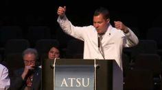 Scott Norton | Motivatonal Speech | Perserverence | White Coat Ceremony ...