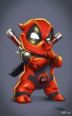 #Deadpool #Fan #Art. (Deadpool Kid) By: Darkey. (THE * 5 * STÅR * ÅWARD * OF: * AW YEAH, IT'S MAJOR ÅWESOMENESS!!!™)[THANK U 4 PINNING!!!<·><]<©>ÅÅÅ+(OB4E)
