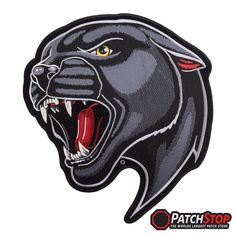 Tiger /& Animal Patches Crouching Tiger Blood Moon Patch