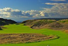 High Dunes Golf Hole 10, Par 4 • Chambers Bay