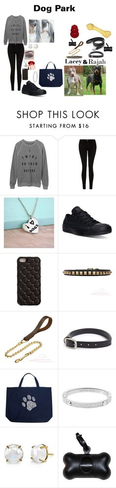 """""""Dog Park"""" by sbaez-2 on Polyvore featuring Current/Elliott, Bellezza, Converse, 2Me Style, Barbour, Tory Burch, Los Angeles Pop Art, Michael Kors, women's clothing and women"""