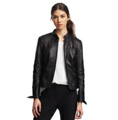 Gerri Leather Jacket - Kenneth Cole