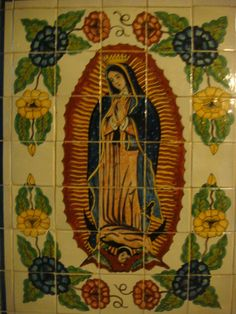 Tile mural from Dolores Hidalgo.    www.mexicana-nirvana.com