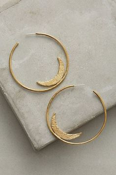 Equinox Hoops #anthropologie