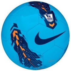 Nike League Pitch Soccer Ball - Soccer - Sport Equipment - Blue/Orange