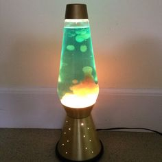 Huge Lava Lamp Stunning Orangeclear Floor Lamp 2 12 Foot Tall Lava Lamp Motion Lamp Inspiration