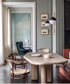 WHAT'S HOT ON PINTEREST: 5 VINTAGE DINING ROOMS FOR THE WEEKEND