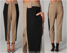 inspiration and realisation: DIY fashion blog: diy foldover trousers