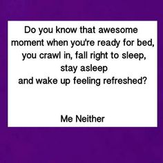 ADHD & Sleep-it's a good feeling to know that i am not the only one who goes through this on a daily basis