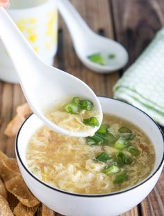 Egg Drop Soup - one of my favorites any time!