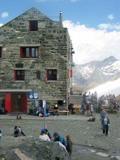 Brittaniahütte Saas fee Suisse