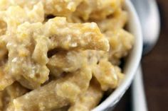 Slow Cooker Macaroni and Cheese- might be good with some ground turkey mixed in to make a whole meal