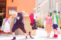 Boku no Hero Academia || Katsuki Bakugou, Katsuki's Mother, Inko Midoriya, Midoriya Izuku. ( #Cosplay )