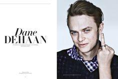 Dane DeHaan Covers Flaunt Magazine image dane dehaan 002