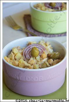 Salade de pommes de terre à la portugaise | Marmotte cuisine !