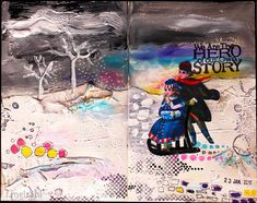 couleurs et mixed media: art-journal 2016