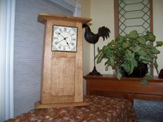Arts And Crafts / Mission Mantel Clock