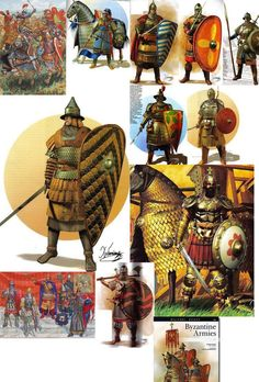 Historical Concepts, Historical Pictures, Byzantine Army, Armadura Medieval, Medieval World, Roman History, Fantasy Faction, Dark Ages, Ancient Rome