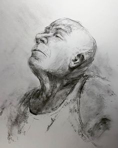 Com Had a terrific life drawing model last night, who could turn a 20 minute pose into something expressive. Makes these quick sketches worth… Quick Sketch, Life Drawing, My Drawings, Sketches, Poses, Black And White, Night, Instagram Posts, Artwork