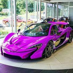 Purple McLaren Courtesy of @luxury _ ©@darkknightm4