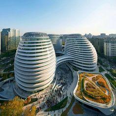 Galaxy SOHO by Zaha Hadid Architects in #Beijing, #China