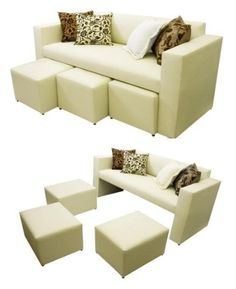Decoraci n salas on pinterest living rooms green living for Salas para espacios pequenos