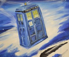 Tardis - Just a small fragment of a larger painting - coming soon :) Oil on canvas. Large Painting, Tardis, Oil Paintings, Oil On Canvas, Larger, Art, Kunst, Art Background, Performing Arts