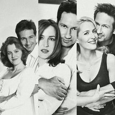 Through the years. The X Files