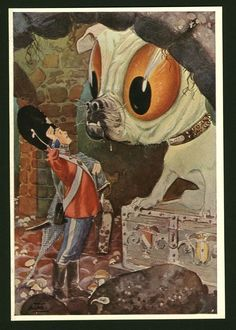 """The Tinderbox. From """"Andersen's Fairy Tales"""" illustrated by Artuš Scheiner - Google Search"""