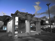 Espacio Habitable de Hormigón, Madera y Vidrio / ERDC Arquitectos