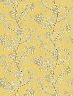 Chinese Peony, a feature wallpaper from Sanderson, featured in the Richmond Hill collection.
