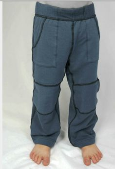 Soft bamboo sensory friendly pants @ www.etsy.com