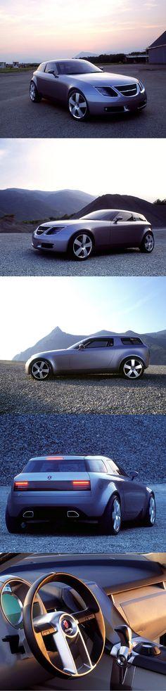 2001 Saab 9-X / Bertone / concept / Sweden Italy / 17-371