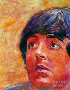 """David Lloyd Glover, """"Beatle Paul"""" - Many of Hollywood's A-list celebrities and recording stars are among his top collectors. For his many galleries, Glover has created images ranging from Impressionist landscapes to Iconic pop art images of Jazz artists and Rock stars. David Lloyd Glover has a 25-year international reputation exhibiting in major galleries in the US, Canada, Mexico, and Japan. Since 1986 he has sold over 2,000 original paintings."""