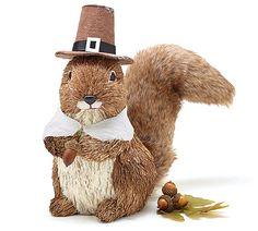 Holiday Pilgrim Squirrel