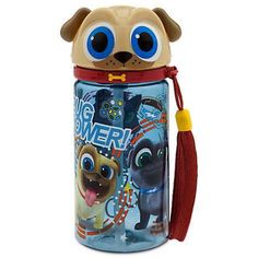 Rolly Water Bottle - Puppy Dog Pals - Small So cute bottle for kids! Pig Birthday Cakes, Puppy Birthday Parties, 2nd Birthday, Birthday Ideas, All Dogs, Dogs And Puppies, Disney Junior Birthday, Disney Water Bottle, Holidays And Events