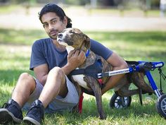Saagar Narsey helped care for Denzel before his adoption.
