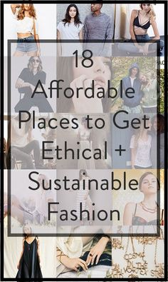 nice The 18 Most Affordable Places to Buy Sustainable, Eco-Friendly, and Ethical Fashion by http://www.redfashiontrends.us/fashion-designers/the-18-most-affordable-places-to-buy-sustainable-eco-friendly-and-ethical-fashion/