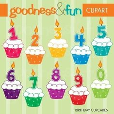 Buy 2 Sets Get 2 Sets FREE  Digital Clipart  by goodnessandfun