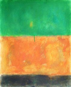 Green earth | Pintura de Luis Medina | Flecha