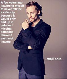 because Tom Hiddleston.