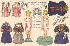 Paper doll France