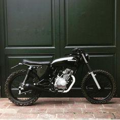 Honda CG125 Black Scrambler