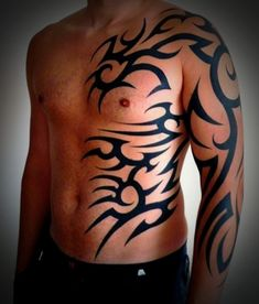 Tribal Tattoos for Men and Women (40)