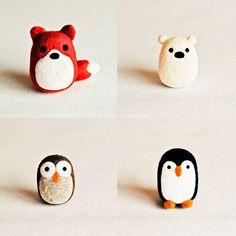 Handmade By Brynne, muñecos de fieltro