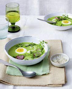 7-Kräuter-Suppe mit Ei - Rezepte - [LIVING AT HOME] für meine Kräuterfreunde  Meine Aktivitäten unter www.spreewald-kraeutermanufaktur.de